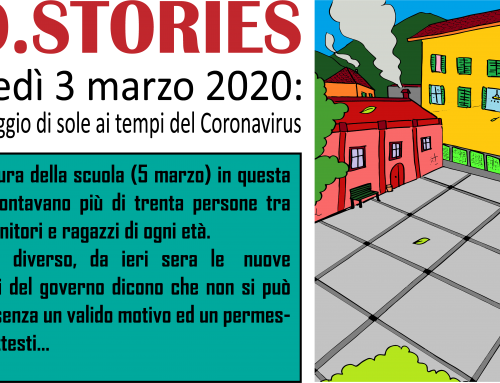 EDUSTORIES: RACCONTI DI STRADA